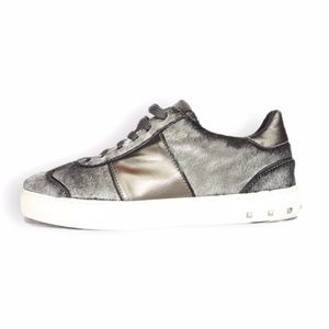 Valentino Pony Hair Sneakers Size 40.5